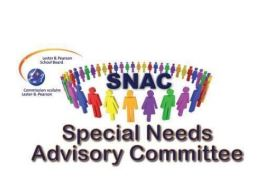 Special Needs Advisory Committee (SNAC) Annual General Assembly 2018